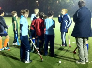 GB player Nic White leading one of our Academy training sessions