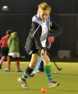 Girls' training session at Oxford Hockey Club's academy