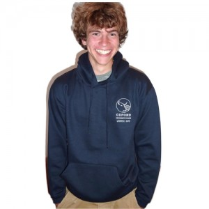 Oxford Hockey Club junior hooded top