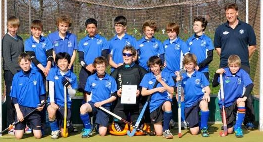 Oxford Hockey Club's under 14 boys