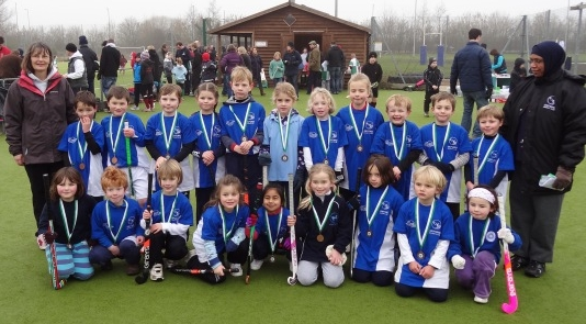 Oxford Under 8s at the Wallingford Wildcats Tournament